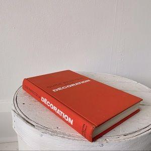Hard cover - Mid century French design - Orange